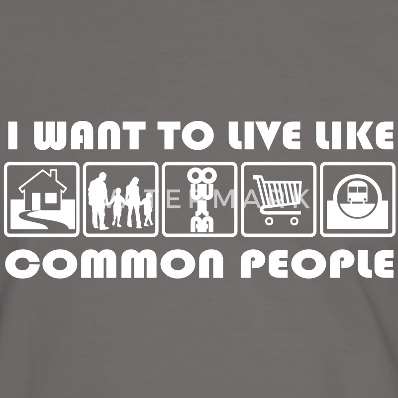 common people T-Shirts - Men's Ringer Shirt