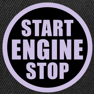 start stop engine T-Shirts - Czapka typu snapback