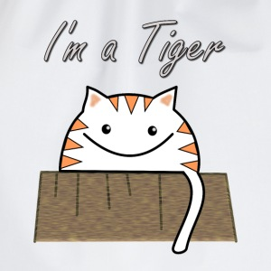 I'm a tiger  Aprons - Drawstring Bag
