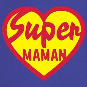 coeur heart super maman Sweat-shirts - Tablier de cuisine