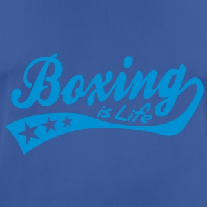 boxing is life - retro Sweatshirts - Herre T-shirt svedtransporterende