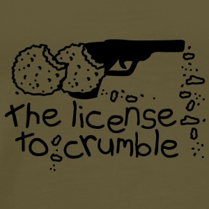 The license to crumble Vesker - Premium T-skjorte for menn