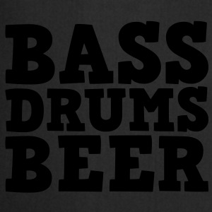 Bass Drums and Beer Sweaters - Keukenschort