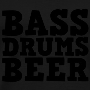 Bass Drums and Beer Pullover - Männer Premium T-Shirt