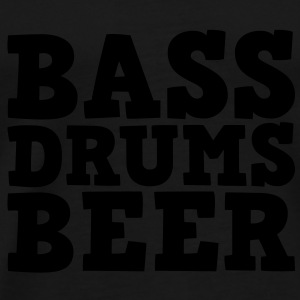 Bass Drums and Beer Sweaters - Mannen Premium T-shirt