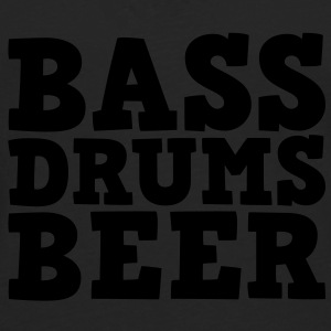 Bass Drums and Beer Sweaters - Mannen Premium shirt met lange mouwen