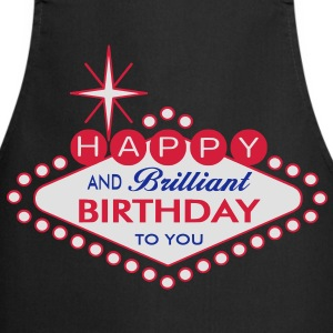Happy Birthday - Las Vegas Style Shirts - Cooking Apron