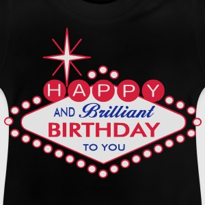 Happy Birthday - Las Vegas Style Shirts - Baby T-Shirt