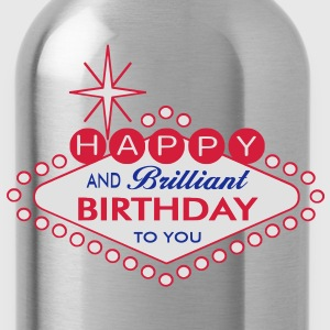 Happy Birthday - Trinkflasche