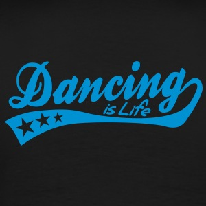 dancing is life - retro Barnegensere - Premium T-skjorte for menn