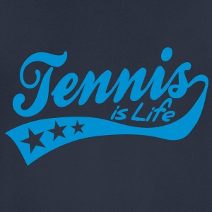 tennis is life - retro Pullover - Männer T-Shirt atmungsaktiv