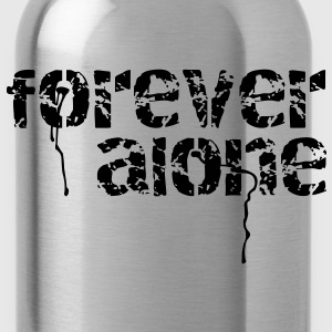 forever alone T-Shirts - Water Bottle