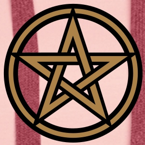 Pentagram amulet- Sign of intellectual omnipotence and autocracy. 2c, Star of the Magi , powerful symbol of protection T-Shirts - Women's Premium Hoodie