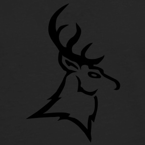 stag vector T-Shirts - Men's Premium Longsleeve Shirt