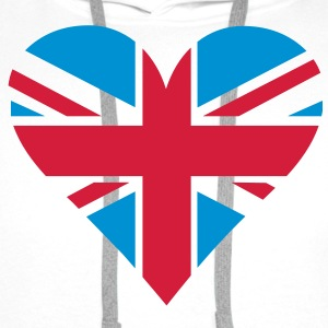 UK Heart London T-shirts - Mannen Premium hoodie