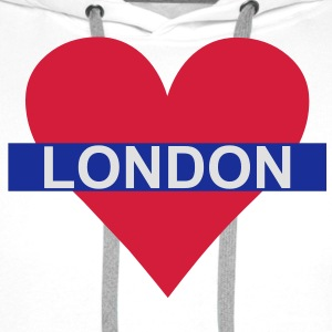 Love London - Underground Kids' Shirts - Men's Premium Hoodie