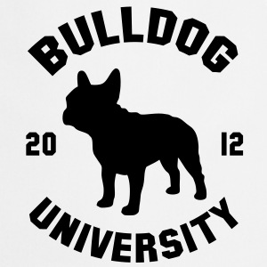 BULLDOG UNIVERSITY  Camisetas - Delantal de cocina