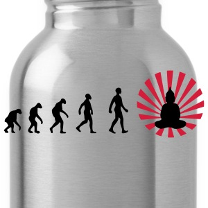 Darwin, evolution, revolution, enlightened, Buddha - Water Bottle
