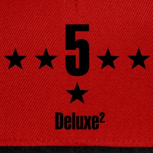 5 stars deluxe T-Shirts - Snapback Cap
