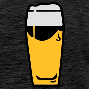 beer beerglass drinking T-shirt Tshirt Hoodies & Sweatshirts - Men's Premium T-Shirt
