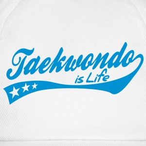 taekwondo is life - retro Baby Bodysuits - Baseball Cap