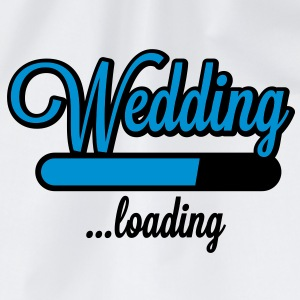 Wedding loading T-Shirts - Drawstring Bag