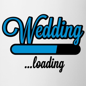 Wedding loading T-Shirts - Taza