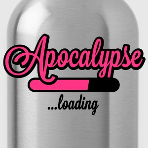 Apocalypse loading T-Shirts - Trinkflasche