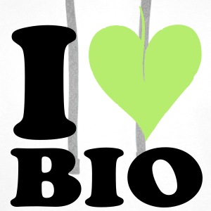 I love Bio Kids' Shirts - Men's Premium Hoodie