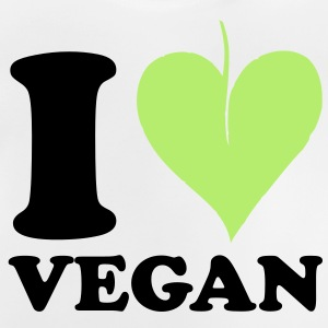 I love Vegan Barn-T-shirts - Baby-T-shirt