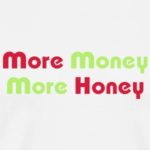 More Money More Honey Mugs  - Men's Premium T-Shirt
