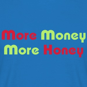 More Money More Honey / Glow in the Dark Aprons - Men's T-Shirt