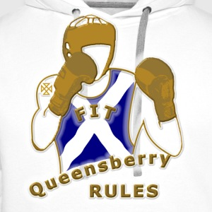 Scotland Boxing Queensberry Style gents t-shirt - Men's Premium Hoodie