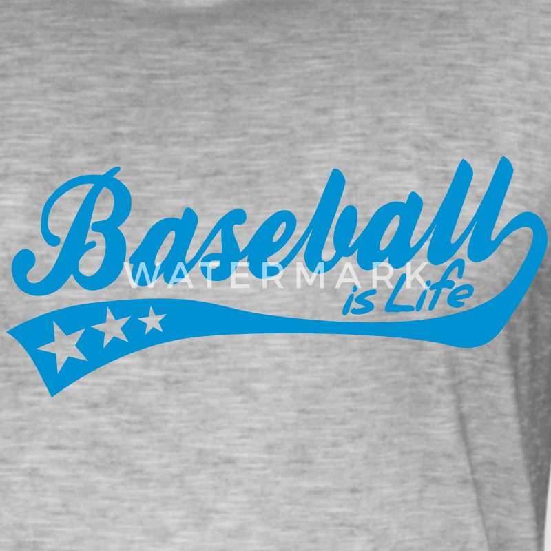 baseball is life - retro Byxor och shorts - Vintage-T-shirt herr