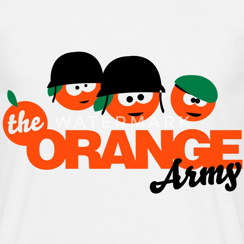 The Orange Army T-Shirts - Men's T-Shirt