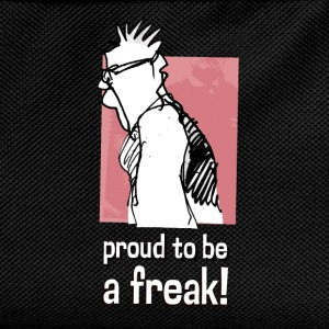 proud to be a freak! - Kinder Rucksack