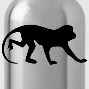 affe_90 Pullover - Trinkflasche