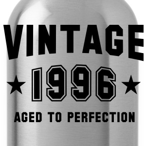 VINTAGE 1996 - Birthday T-Shirt - Water Bottle