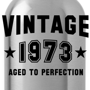 VINTAGE 1973 - Birthday Geburtstag T-Shirt - Drinkfles