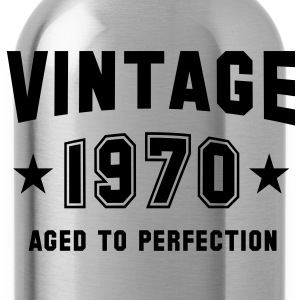 VINTAGE 1970 - Birthday Geburtstag T-Shirt - Drinkfles