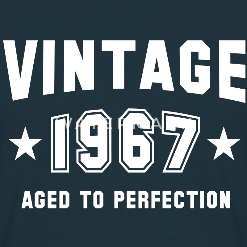 VINTAGE 1967 - Birthday T-Shirt - Men's T-Shirt
