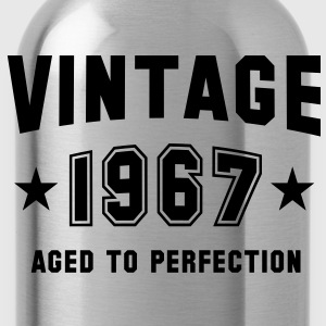 VINTAGE 1967 - Birthday Geburtstag T-Shirt - Drinkfles