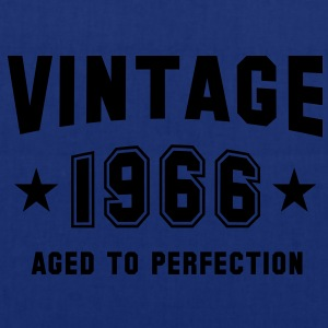 VINTAGE 1966 - Birthday T-Shirt - Tote Bag