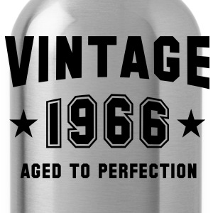 VINTAGE 1966 - Birthday Geburtstag T-Shirt - Drinkfles