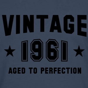 VINTAGE 1961 - Birthday T-Shirt - Men's Premium Longsleeve Shirt