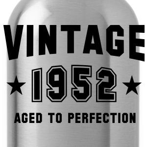 VINTAGE 1952 - Birthday T-Shirt - Water Bottle