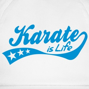 karate is life - retro Muggar - Basebollkeps