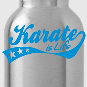 karate is life - retro Sweat-shirts - Gourde