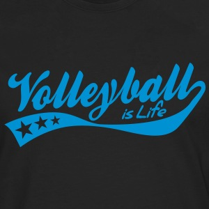 volleyball is life - retro Baby body - Mannen Premium shirt met lange mouwen