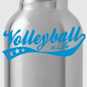 volleyball is life - retro Kinder sweaters - Drinkfles